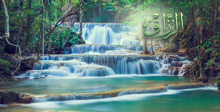 «Воистину, #Аллах является Наделяющим уделом, Обладающим могуществом, Крепким».