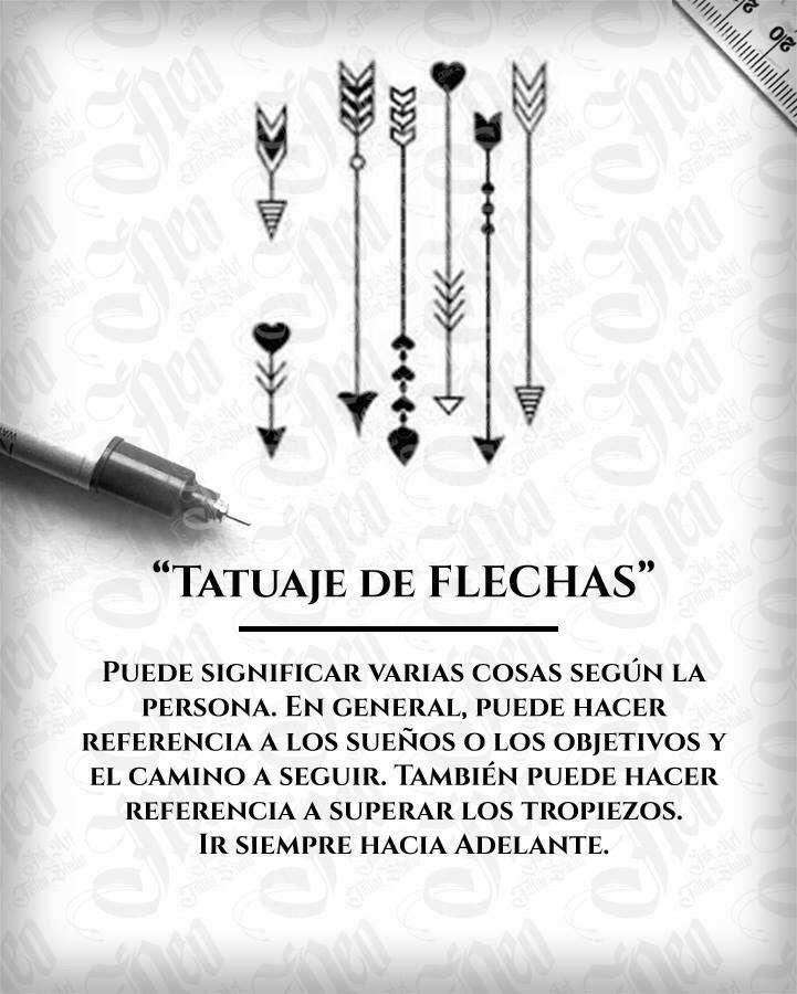 Tatuaje De Flechas Significado Tattoos Pinterest