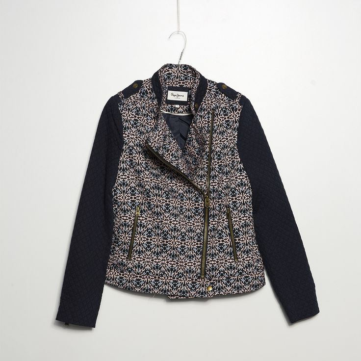 #jeansstore #fallwinter14 #fall #winter #autumn #autumnwinter14 #onlinestore #online #store #shopnow #shop #fashion #womencollection #women #jacket #pepejeans #pepejeans #skye #multi #slimfit #longsleeve #cotton