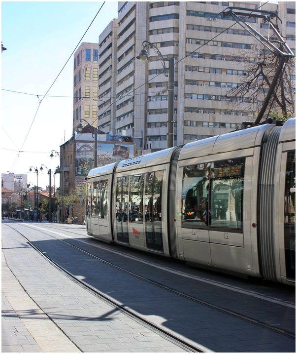 The city train in Jerusalem