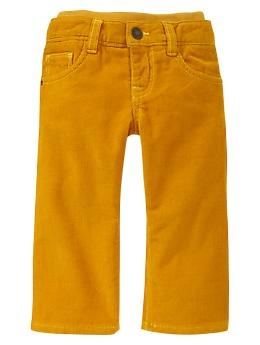 Knit-waist corduroy pants | Gap