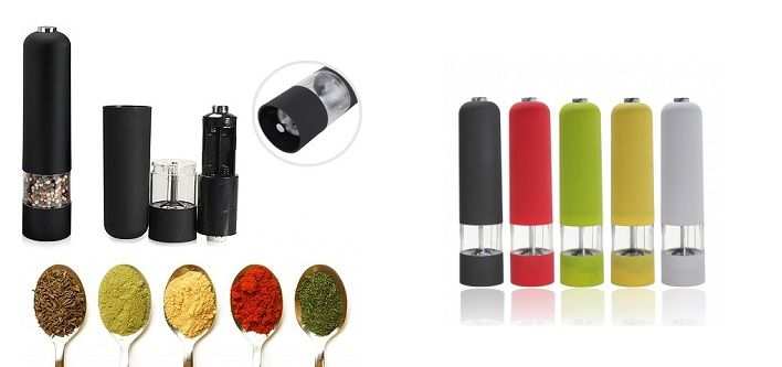 $10 for an Electric Spice Grinder Available in 6 Colours - Taxes Included ($59 Value)