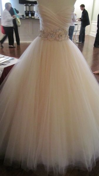princess dress, toole with accent belt
