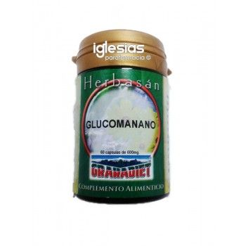 Granadiet Glucomanano (Fibra) 60 cap 600mg