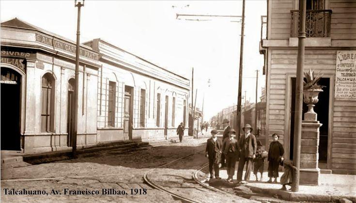 Talcahuano, 1918, calle Bilbao
