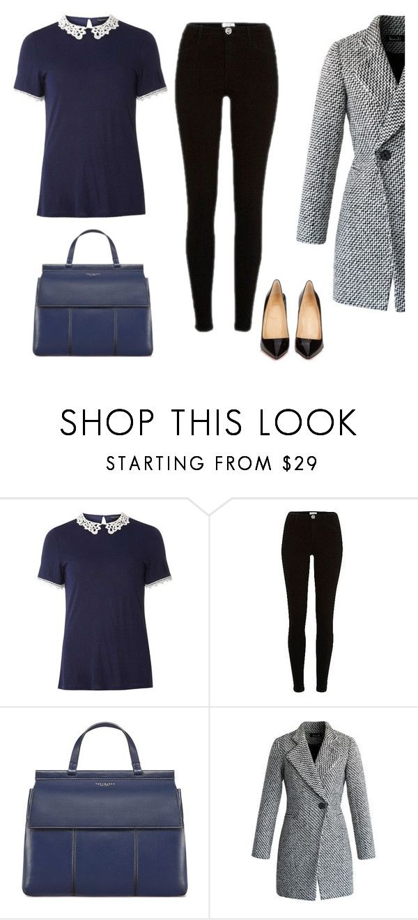 """Business look"" by monika1555 on Polyvore featuring Dorothy Perkins, River Island, Tory Burch, Chicwish and Christian Louboutin"