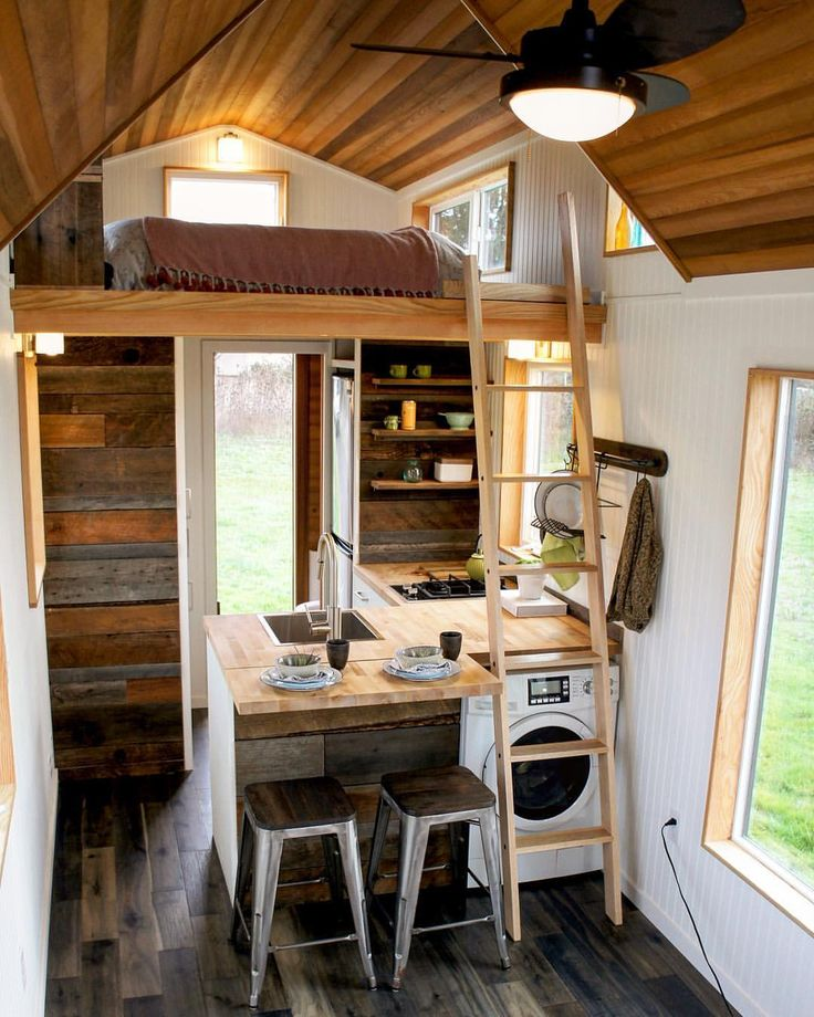 Compact living ideas Built by GreenLeaf Tiny
