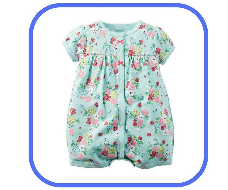 Summer style baby girl/ romper