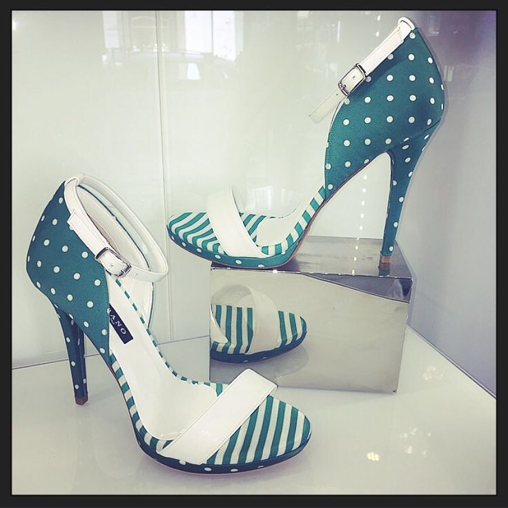 Green and Pois for a glamour shoes!! Albano in limited edition!!!
