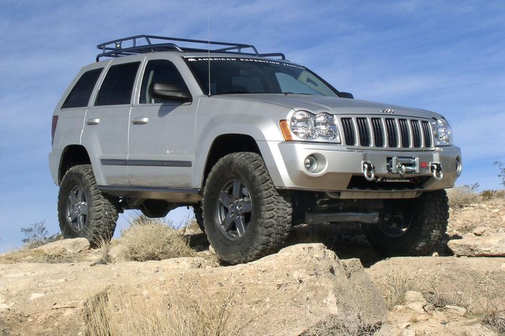 lifted 2005 jeep grand cherokee pictures | ... Lift System For 2WD and 4WD Jeep Commander (XK) and Grand Cherokee (WK