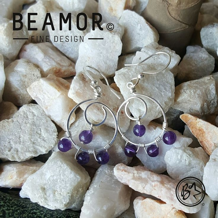 Spring is here in the Southern Hemisphere. Time for a cute pair of earrings to match that outfit. Custom designs welcome.  #spring #earrings #accessories #amethyst #etsy #etsyshop #beamorfinedesign #etsysuccess #findamaker #cuteearrings
