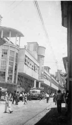 Centro de Cali. 1950
