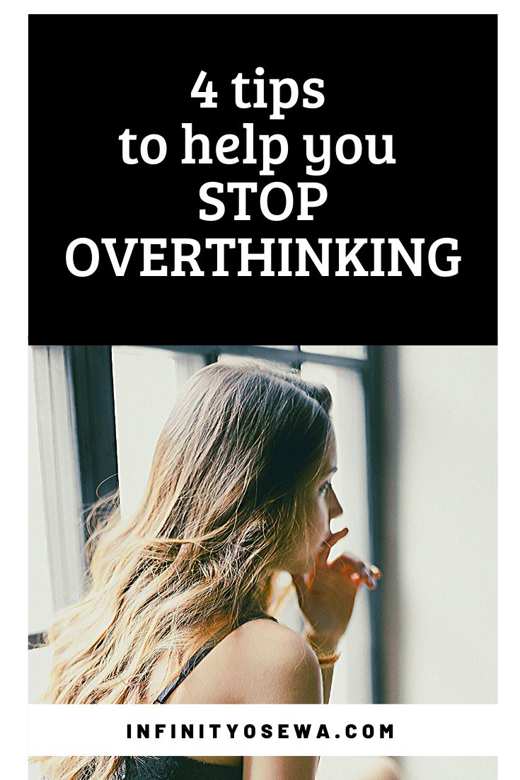 How to stop over thinking with images overthinking
