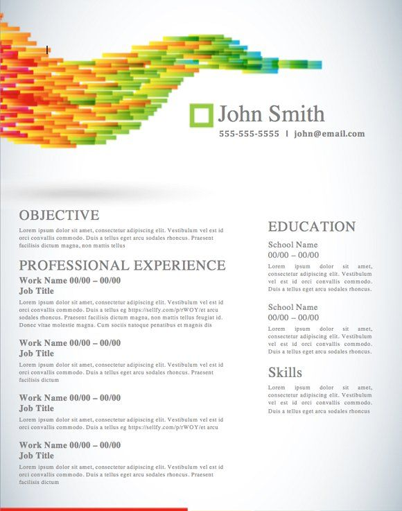 Best Resume  Portfolio Design Images On   Resume