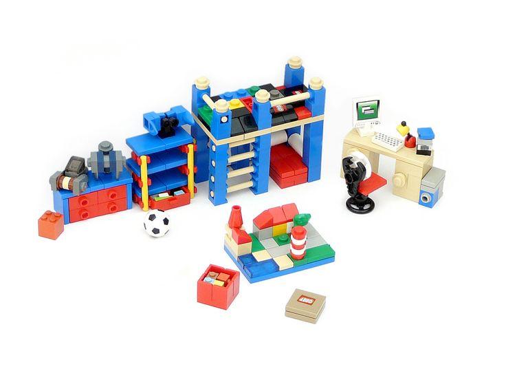 Lego Bedroom Furniture 165 best lego furniture images on pinterest | lego furniture, lego