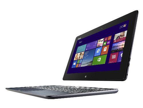 #Laptopieftin convertibil 2 in 1 putand fi utilizat ca si tableta modelul Asus Transformer Book T100TA-DK003B Quad-Core si 2 GB DDR