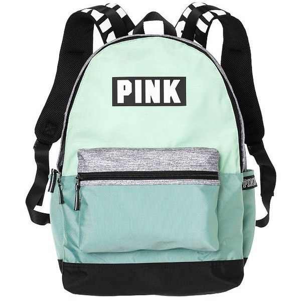 Amazon.com | Victoria's Secret Pink Campus Backpack Animal... ($23) ❤ liked on Polyvore featuring bags, backpacks, black white bag, animal print backpacks, victoria secret pink backpack, black and white bag and day pack backpack