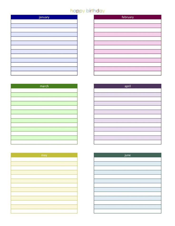 77 best Educational Templates images on Pinterest Spelling lists - birthday planner template