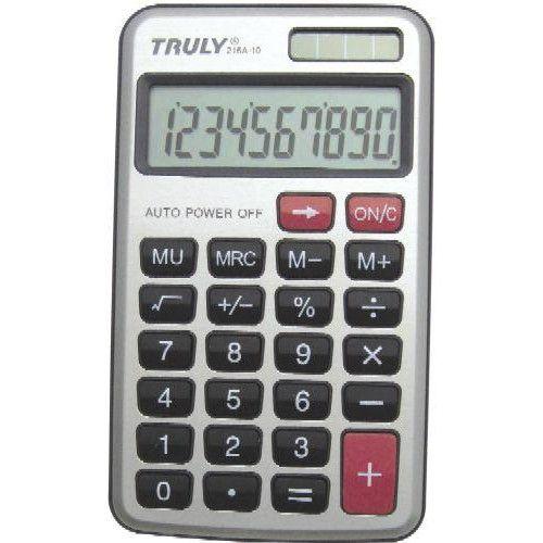 Zsebszámológép 10 számjegyes, nagy kijelzővel Truly 216A-10 - Számológépek Ft Ár 849