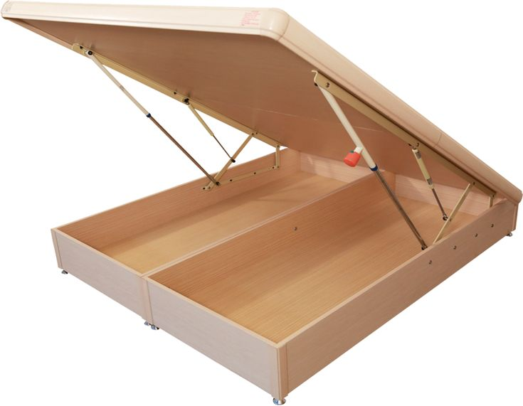 safe buffered lift storage bed