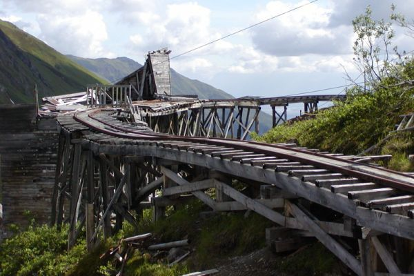Abandoned Towns | Independence Mine Ghost Towns  Abandoned Mines in Alaska, Arizona and ...