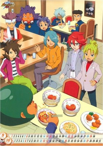 Calendar(this in better quality) - inazuma-eleven Photo