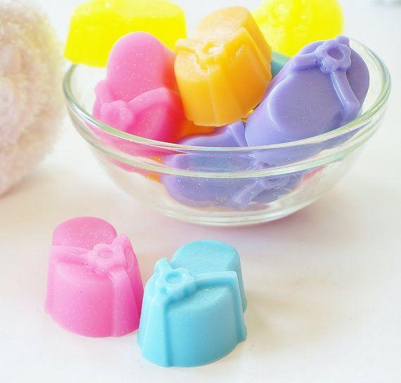 30 BULK FLIP FLOP Sparkly Mini Soaps  Choose Scent by crimsonhill, $21.00