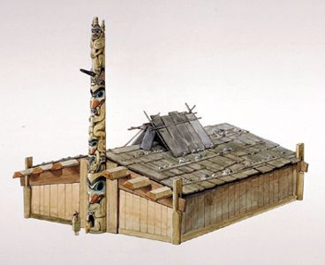 Vancouver island big trees haida cedar plank longhouses for Vancouver island jewelry designers