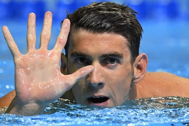 Michael Phelps Becomes 1st American Male Swimmer to Qualify for 5 Olympics
