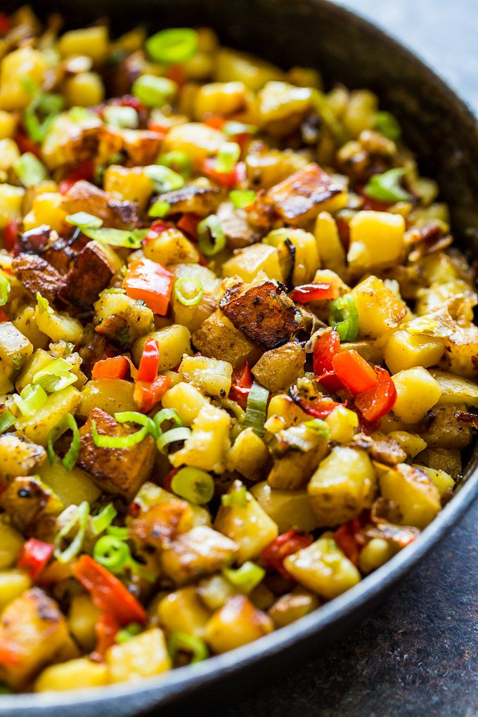 Easy Breakfast Potatoes O Brien Get Inspired Everyday Recipe Breakfast Potatoes Easy Recipes Potatoes Obrien