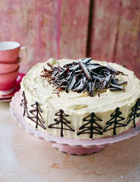 Baked white chocolate cheesecake  - Sainsbury's Magazine