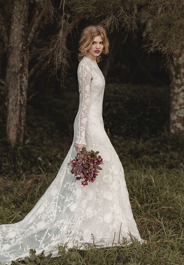Rue De Seine Wedding Dress I Bride Inspiration Flowers