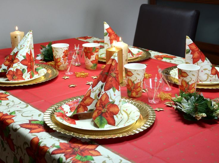 17 best images about decoraci n navide a mesa comedor for Mesas para navidad casa