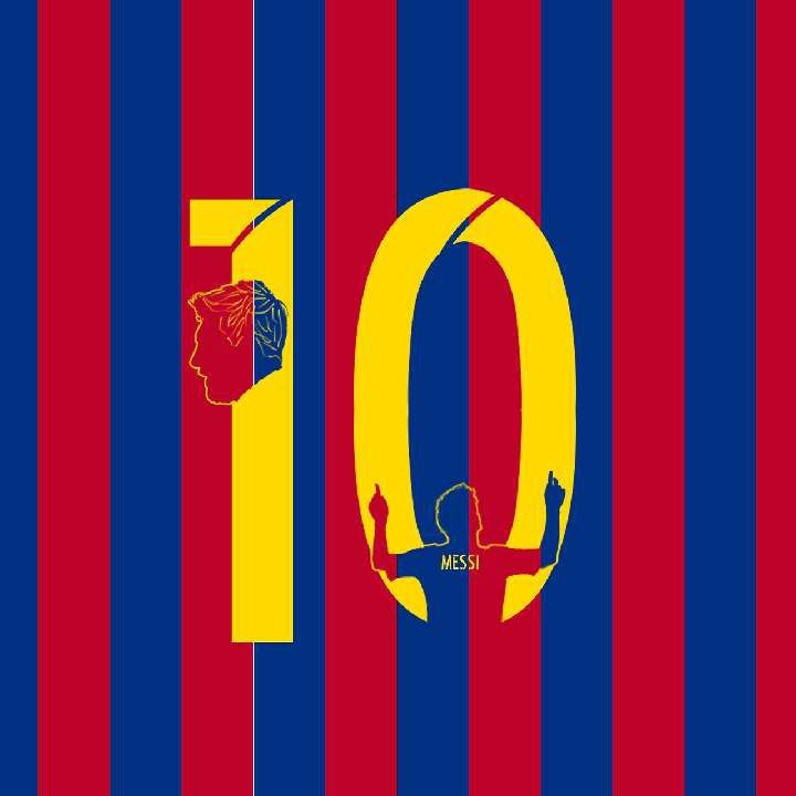 Messi A Minimalist Edit Of The Goat Messi Fcbarcelona Minimalist Leomessi Fcb Soccer Football Art Visca Barca
