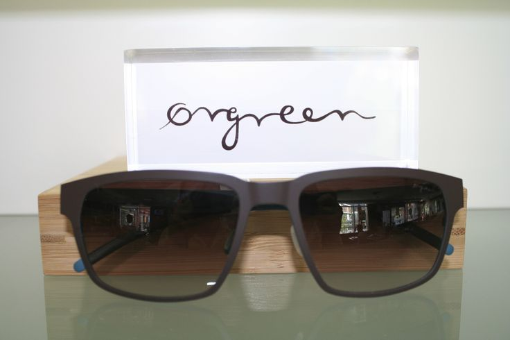 Orgreen Easy Rider Sunglasses in Mat Brown