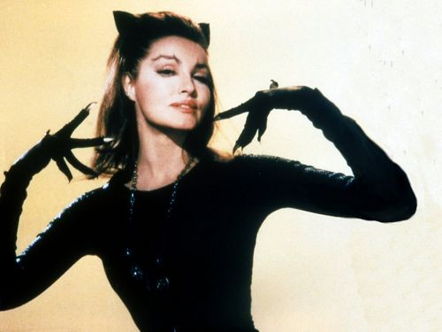 Julie Newmar.  My favorite Catwoman.