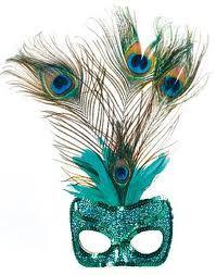 peacock masks