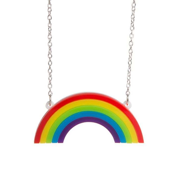 Sugar & Vice Mini Rainbow Necklace