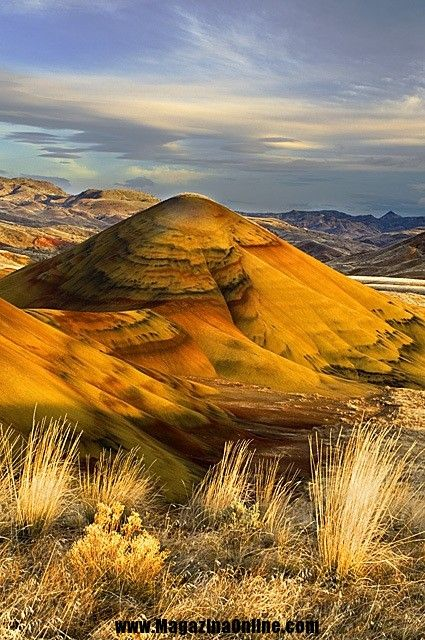 Painted Hills, National Monument, Oregon, USA. Spectacular Places You Should Visit in Your Life | Amazing Online Magazine
