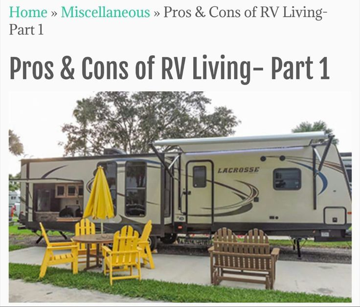 Top 5 perks to living full time in an RV!