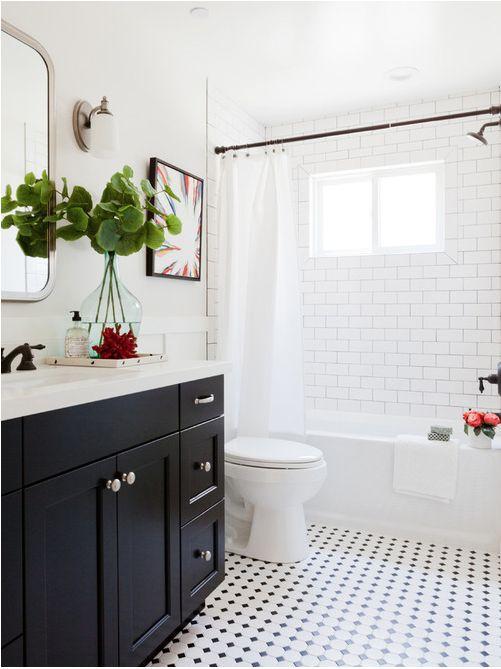 Pretty, classic bathroom