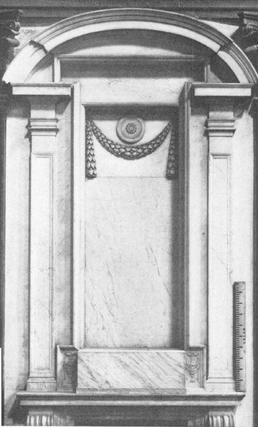 Michelangelo, New Sacristy, Tabernacle