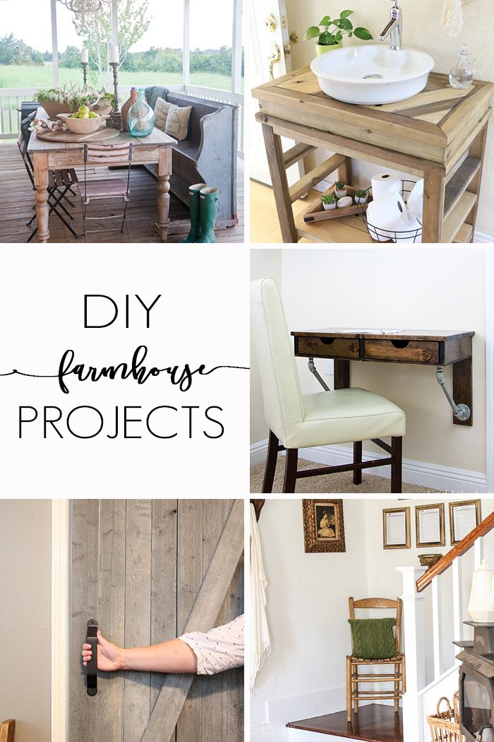 Farmhouse diy projects sliding barn doors home and for Industrial diy projects
