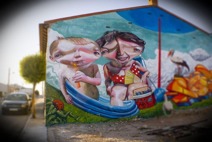"""La Mancha Colors II - 2015  """"Las Mesas Mix Vol 1"""" por Mr. Trazo con Ler, Soez, 2Nez y Freskales"""
