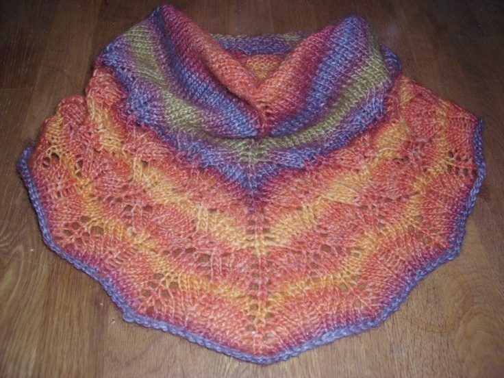 My own Zuzu Petals cowl--from Ravelry