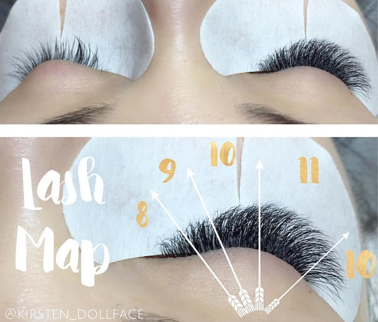 """156 Likes, 6 Comments - ✨Sparkle Every Day✨ (@kirsten_dollface) on Instagram: """"Styling your clients eye is key to achieving the perfect look. Drawing a lash map will help create…"""""""