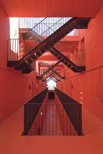 #architecture #color Edificio Mirador MVRDV & Blanca Lleó.