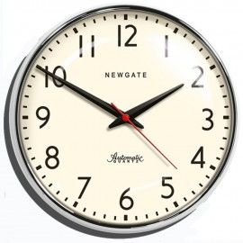The WatFord Wall Clock 40cm - WAT391CH - £89.95 - Stunning clock, perfect for the office!