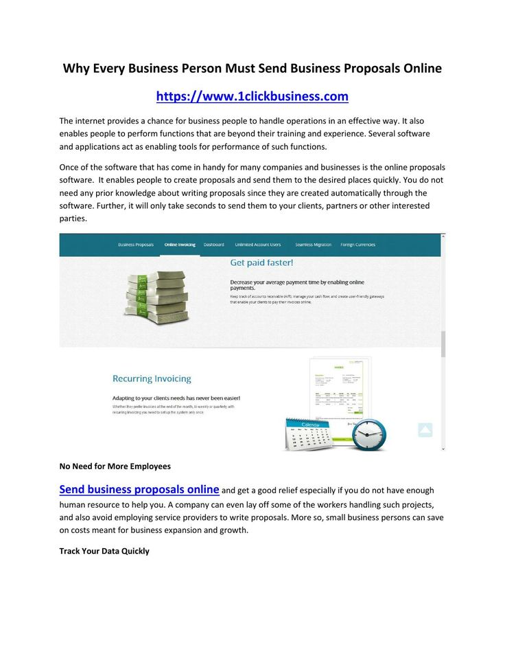 online proposal software | online business proposal software | online billing software  https://www.1clickbusiness.com - To counteract unauthorized page admittance, our system utilizes built-in authentication as well as authorization features. ASP. NET protects application-specific information and ASP. NET MVC features a simple, yet powerful mechanism for mitigating cross-site ask for forgery attacks applying Anti-Forgery Token. Input validation prevents content procedure and cross-site ...