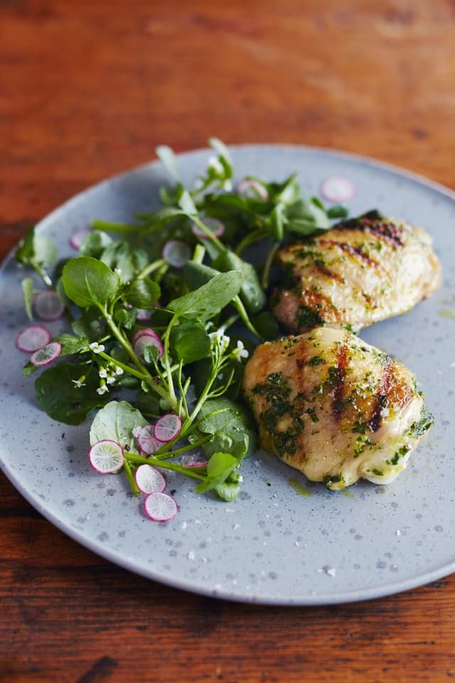 Recipe: Grilled Chicken Thighs with Chimichurri — Recipes from The Kitchn | The Kitchn